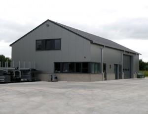 Opslagloods, Vorstenbosch, Aannemersbedrijf P.A.M. van Kessel