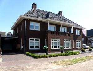 Woonhuis, Vorstenbosch, Aannemersbedrijf P.A.M. van Kessel