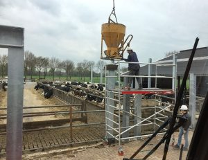 Verbouw melkveestal17